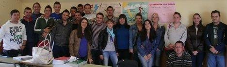 24 jóvenes de Gérgal se forman en Medio Ambiente gracias a Diputación