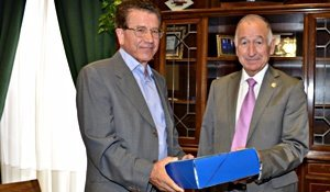Diputación entrega un proyecto para adaptar un local como Salón de 3ª Edad y Juzgado de Paz en Alcudia de Monteagud