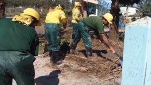 La Sección Sindical de UGT en la Agencia de Medio Ambiente y Agua destaca la labor del INFOCA en las inundaciones