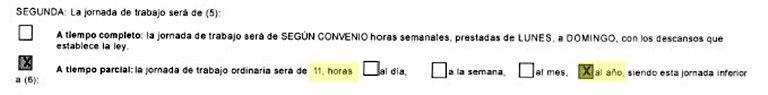 detalle del contrato basura del hospital de poniente en Almería