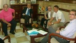 El subdelegado del gobierno se re ne con la junta - Colegio arquitectos almeria ...