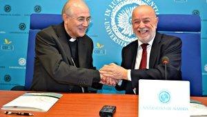 La UAL acogerá una Cátedra de Teología dirigida por el Obispado de Almería