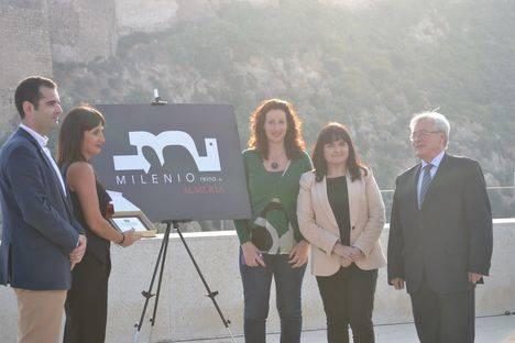 La Alcazaba y la Bahía de Almería, el nuevo logotipo del Milenio del Reino de Almería