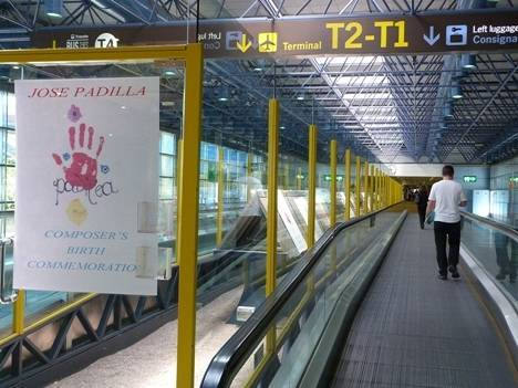 El 125 aniversario del nacimiento del Maestro Padilla aterriza en el Aeropuerto Adolfo Suárez Madrid-Barajas