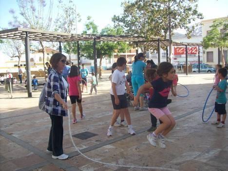 Jornada de juegos tradicionales en Dalías