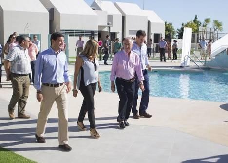 Diputación inaugura la piscina de Viator tras una inversión de 546.876,1 euros