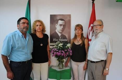 El PA conmemora en Almería el asesinato de Blas Infante