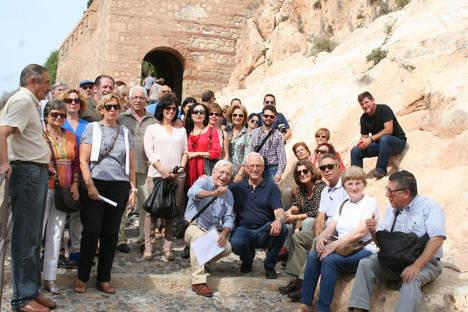Amigos de la Alcazaba sumerge a los almerienses en la época del Rey Jayrán