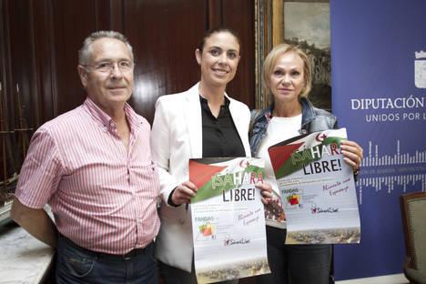 Diputación colabora con la 'Caravana por la Paz 2015' que acercará alimentos y medicamentos a los refugiados saharauis