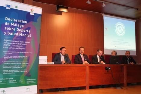 La Universidad de Almería acoge el acto de presentación de la Declaración de Málaga sobre Deporte y Salud Mental
