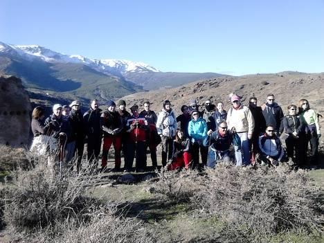 La Diputación Provincial organiza una nueva ruta senderista en Abrucena