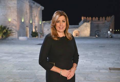 Susana Díaz coincide con Mariano Rajoy: 'Estoy segura de que el año 2015 será mejor que 2014'
