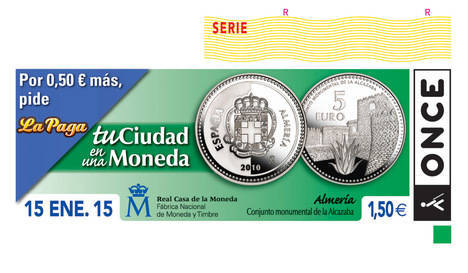 El cupón de la moneda de Almería reparte 1,1 millón en cuatro provincias andaluzas