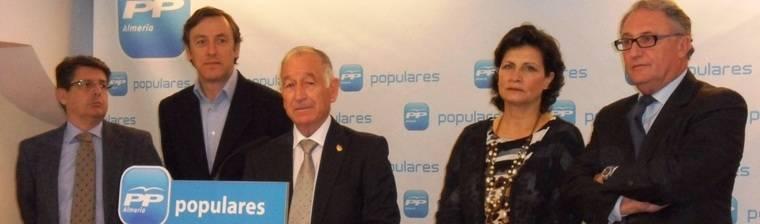 Satisfacción en el PP de Almería por la aprobación en el Consejo de Ministros de la licitación del tramo del AVE Pulpí-Cuevas