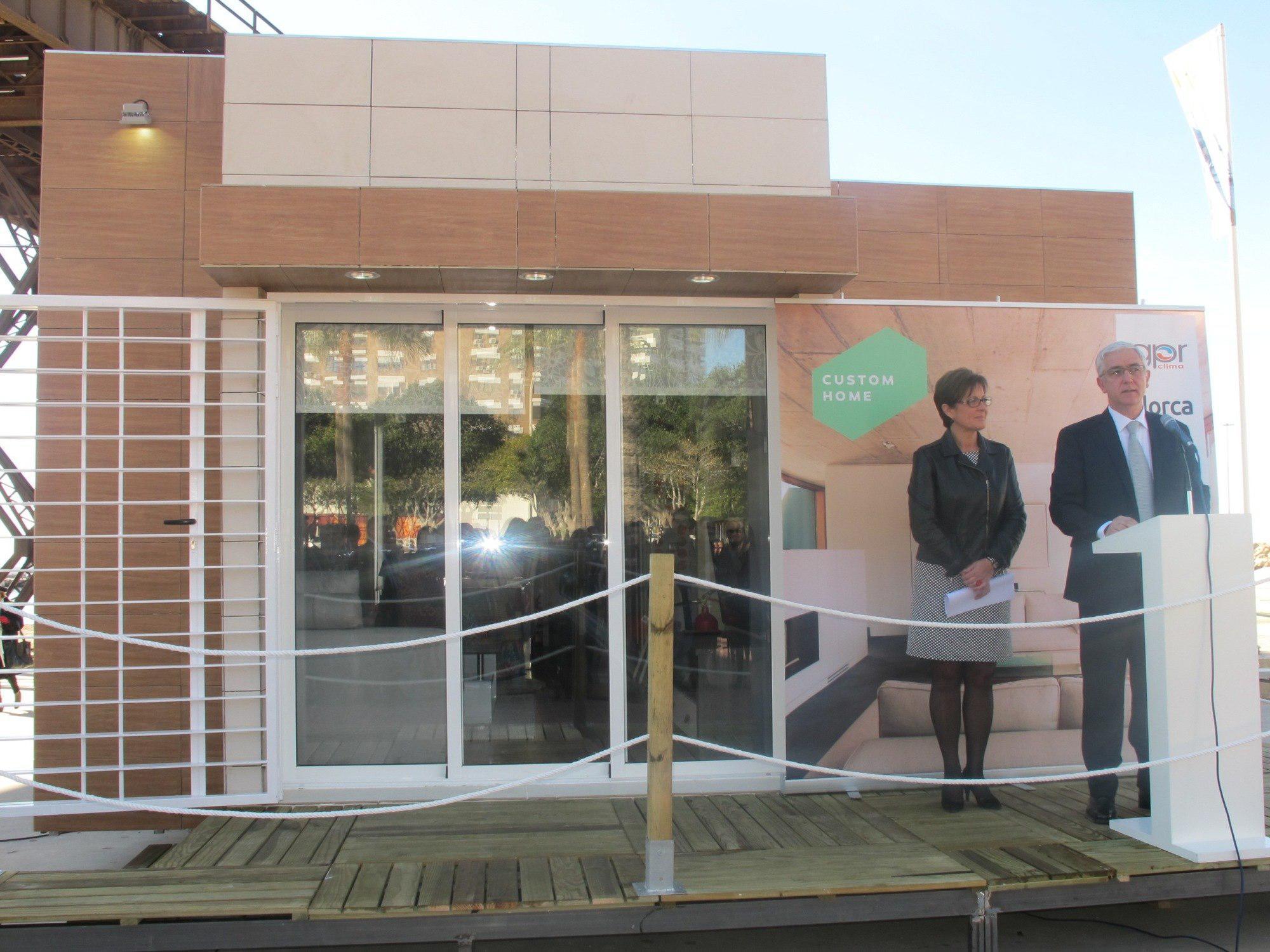 La empresa almeriense Custom Home ha presentado su línea de casas ...