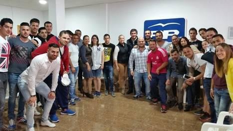 Manuel Cortés promete facilitar el acceso de los jóvenes al Vivero Municipal de Empresas de Adra