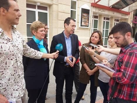 El PSOE ofrecerá el uso del Teatro Apolo de manera gratuita a los artistas para llenarlo de vida los 365 días del año