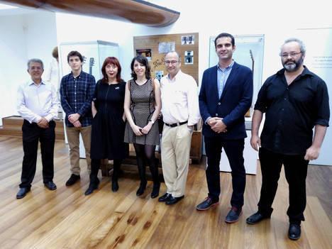 Cinco generaciones representadas en la exposición dedicada a la familia Ramírez en el Museo de la Guitarra