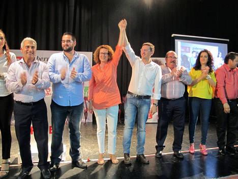 La candidata del PSOE a la Alcaldía de Garrucha promete un 'proyecto sólido y un equipo de trabajo solvente'