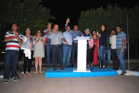 El PP albojense arranca su campaña en la barriada de Los Segovias