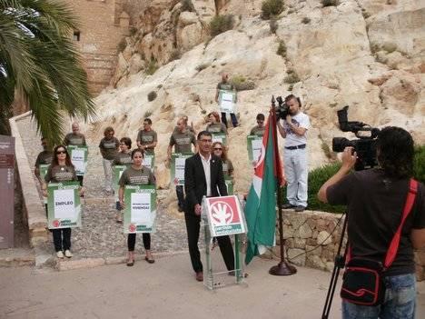 Los andalucistas reclaman un gran Pacto Local por la Alcazaba y su entorno