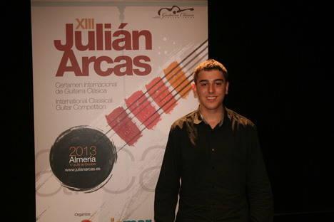 Daniel Reich, ganador de la modalidad 'Jose Tomas' del pasado Julián Arcas, actuará esta semana en Roquetas de Mar y El Ejido