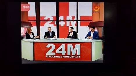 Debate de guante blanco en Interalmeria TV
