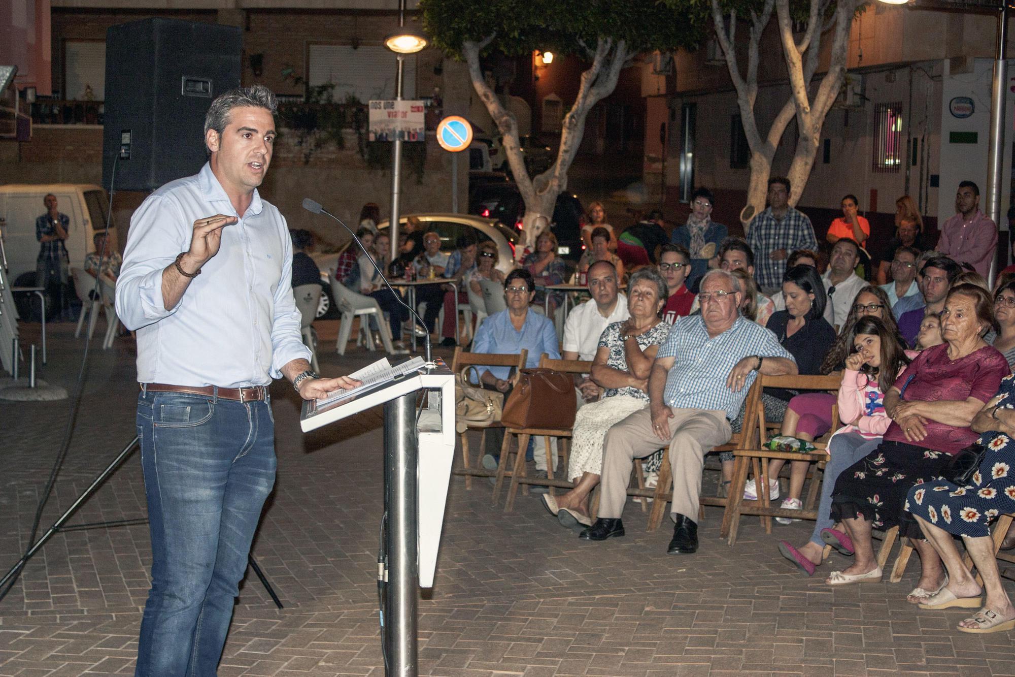 El candidato del PSOE a la Alcaldía de Viator propone un paquete de medidas para fomentar el empleo y ampliar la participación ciudadana
