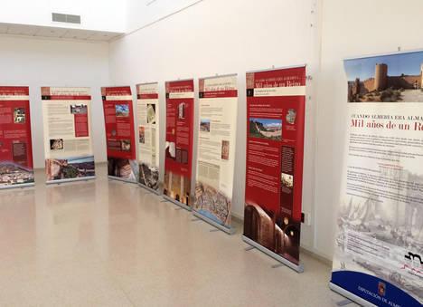 Exposición dedicada al Milenio de Almería en La Mojonera