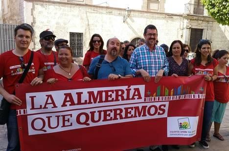 """IU prioriza """"la puesta en valor cultural y social del Hospital Provincial"""" para poder dinamizar del Casco Histórico"""