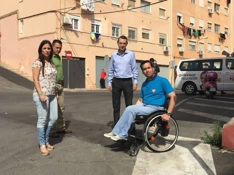 Pérez Navas anuncia un Plan de Accesibilidad Universal para garantizar la movilidad a personas con discapacidad