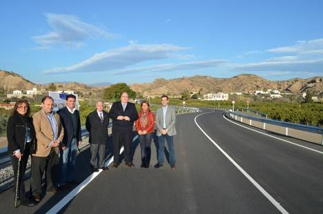 Diputación invierte 120.000 euros en la mejora del firme de la Carretera de Paulenca en Gádor