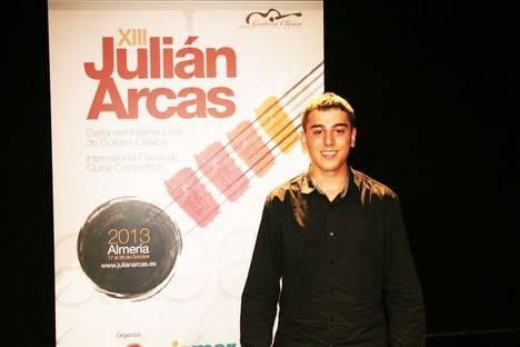 Concierto de Daniel Reich, ganador de la modalidad 'Jose Tomas' en el certamen Julián Arcas de 2013