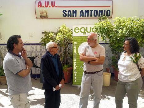 EQUO Almería presenta su idea de la concejalía 28 en Los Molinos
