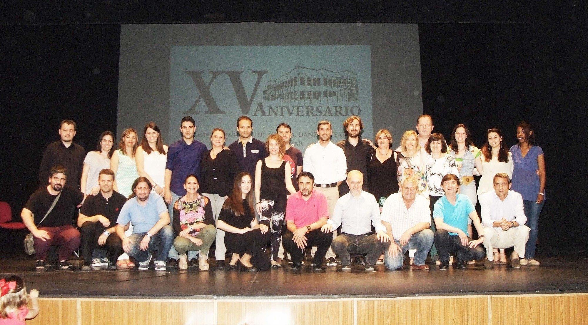 La Escuela de Música de Roquetas de Mar ha celebrado esta semana su XV aniversario