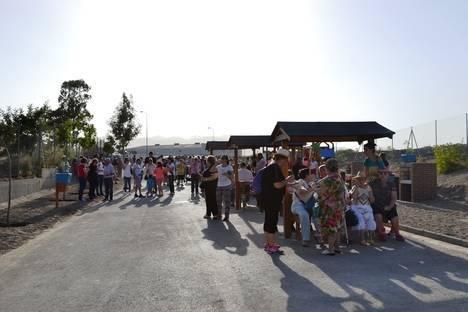 Viator estrena su nueva área recreativa la Pisaica de la Virgen