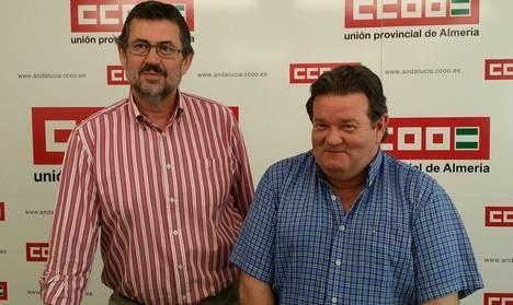 El candidato de IU a la alcaldía pide a CCOO que movilice a los trabajadores contra el PP