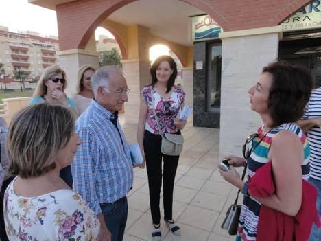 El PP proyecta una remodelación integral de Torrequebrada con jardines intercomunicados