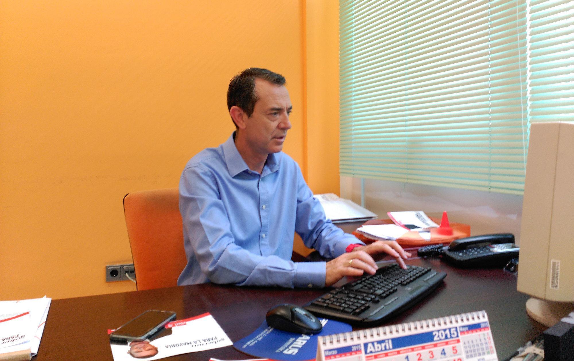 El candidato Juan Carlos Pérez Navas responde a los lectores de Noticias de Almería
