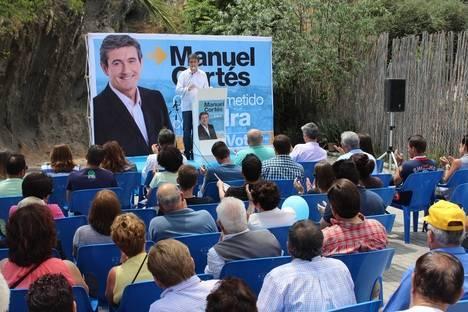 """El PP cierra una campaña """"activa, de propuestas y cercana"""" con la ilusión de renovar la confianza de los abderitanos"""