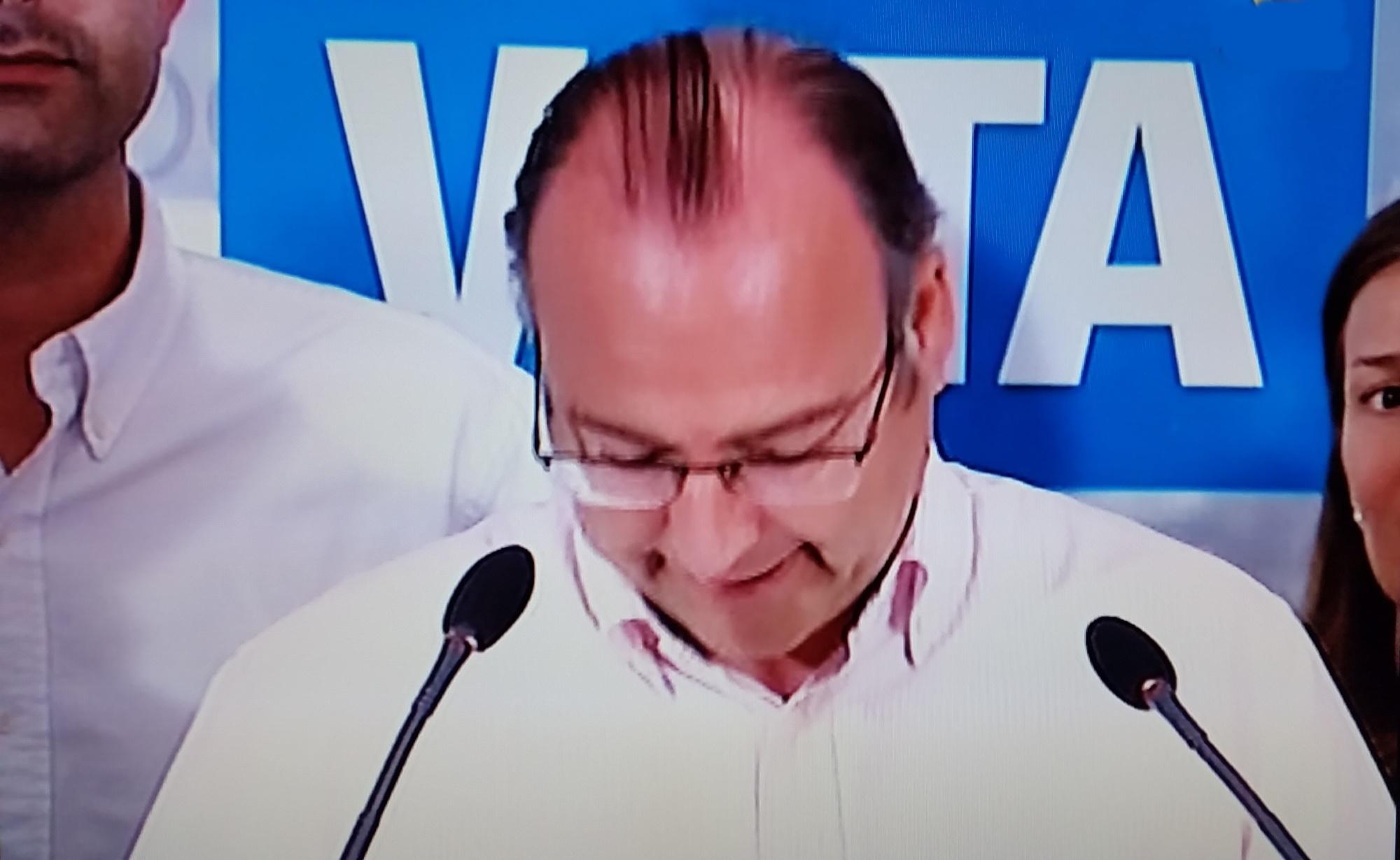 Luis Rogelio destaca que es el más votado en la capital y se muestra abierto al pacto y al diálogo