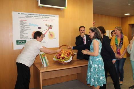 Los centros del sistema sanitario público en Almería celebran desde la VII Semana de Promoción de Hábitos Saludables