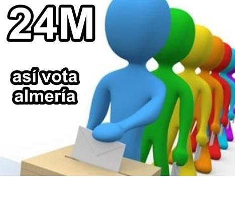 Galería de la jornada electoral en Almería