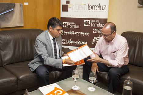 Luis Rogelio no ve obstáculos insalvables para lograr un pacto con Ciudadanos tras la primera reunión