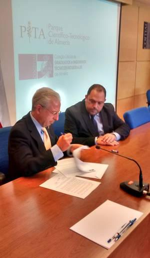 El COITIAL y el PITA se unen en un convenio para desarrollar actividades conjuntas