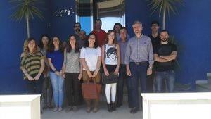 Los integrantes de la Lanzadera de Empleo de Vélez-Rubio contactan con empresas para facilitar su inserción