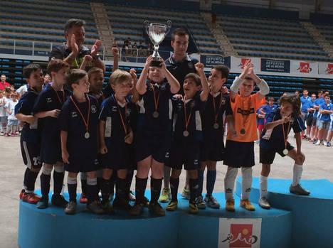 Almería, finalista en Prebenjamín del Campeonato Nacional de Fútbol Sala