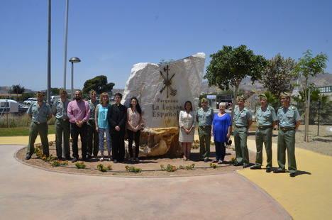 El Ayuntamiento de Viator inaugura el parque de la Legión Española