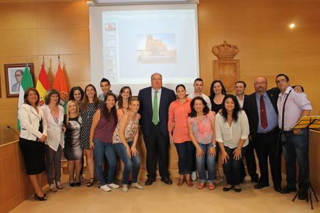 Emprendedores del Bajo Andarax participan en un curso sobre creación de empresas