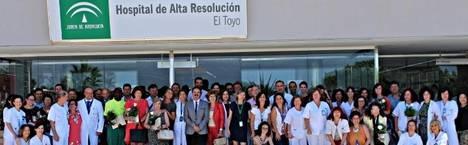 Más de un millón de pacientes han sido atendidos por el Hospital de Alta Resolución El Toyo en sus diez años